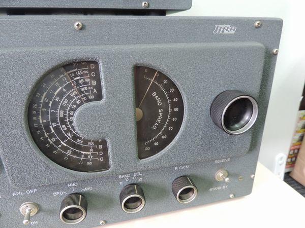 TRIO トリオ 9R-4 通信型受信機・プリセレクター シグナマックス SM-1 セット売り  詳細不明 ジャンク品_画像4