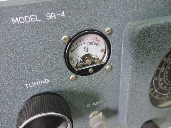 TRIO トリオ 9R-4 通信型受信機・プリセレクター シグナマックス SM-1 セット売り  詳細不明 ジャンク品_画像6