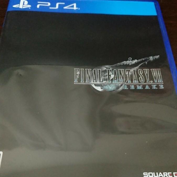 PS4 ファイナルファンタジー7 リメイク FF7