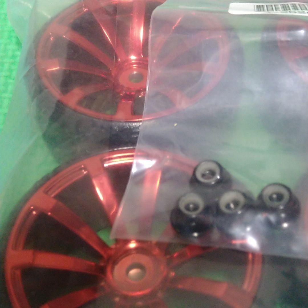 ラジコン 1/10  ホイール ドリフト タイヤ 付き ナット 付き  タミヤ  など