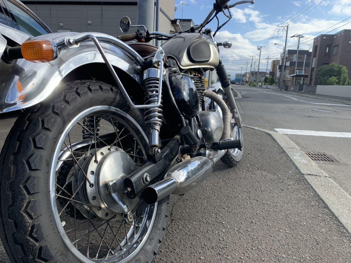 「北海道札幌より 直ぐ乗れます!カワサキ エストレア 250 カスタム 1ヶ月保証」の画像3