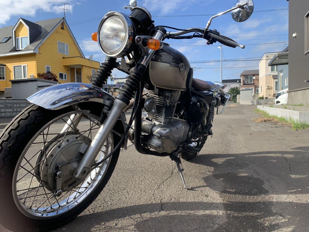 「北海道札幌より 直ぐ乗れます!カワサキ エストレア 250 カスタム 1ヶ月保証」の画像1