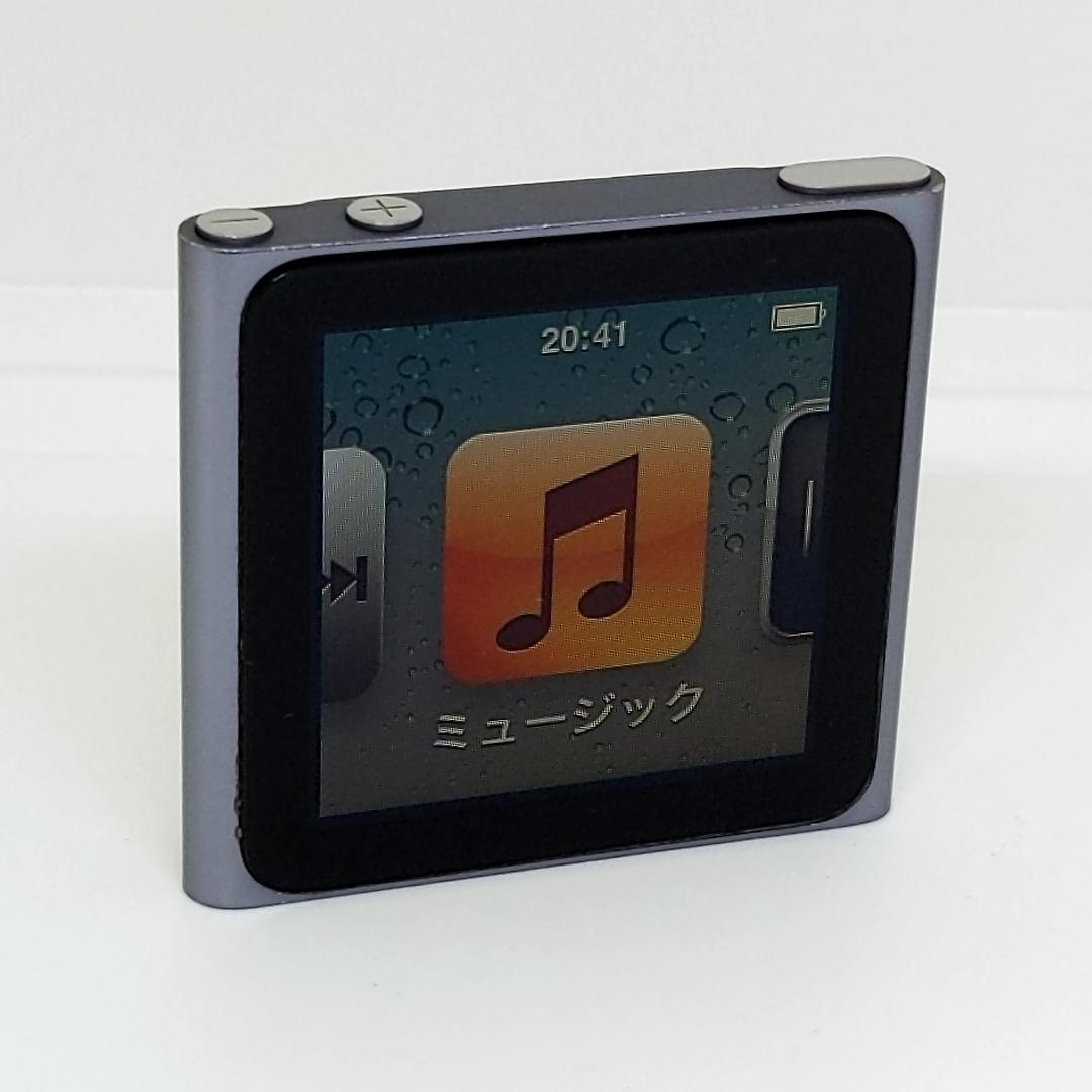 動作品★Apple iPod nano 16GB A1366 第6世代 アップル