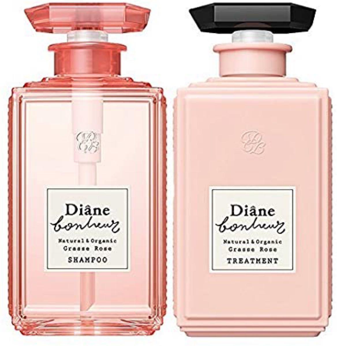 Dianeダイアン ボヌール●ダメージリペア (シャンプー&トリートメント)各500ml 本体セット/グラースローズの香り 新品