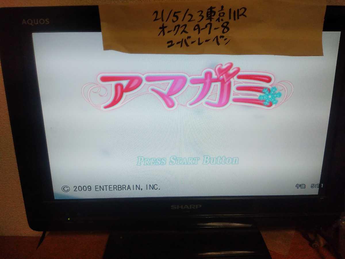 送料無料 動作確認済み 説明書付 PlayStation2 ソフト アマガミ / PS2 プレイステーション2 プレステ2 ギャルゲー 美少女ゲーム 恋愛ゲーム