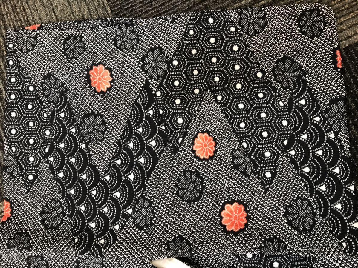 絞り羽織 しぼりはおり 和柄_画像6