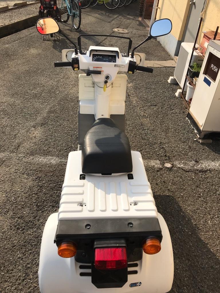 「ジャイロX 4ST TD02 実働ミニカー登録可能 走行42400Km メット不要 福岡」の画像3