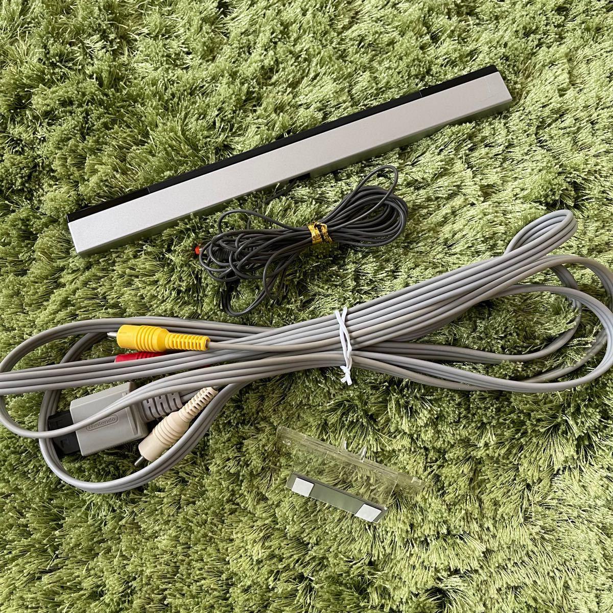 Wii ケーブル、センサーバー  スタンド 付属品 任天堂 ニンテンドー Wii Nintendo