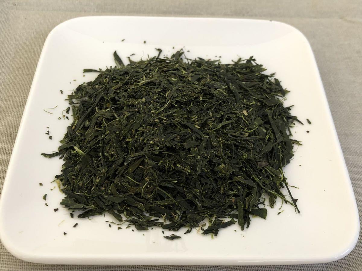「新茶」深蒸し春番茶Lサイズ 宇治茶100% 無農薬 化学肥料不使用 2021年産_画像2