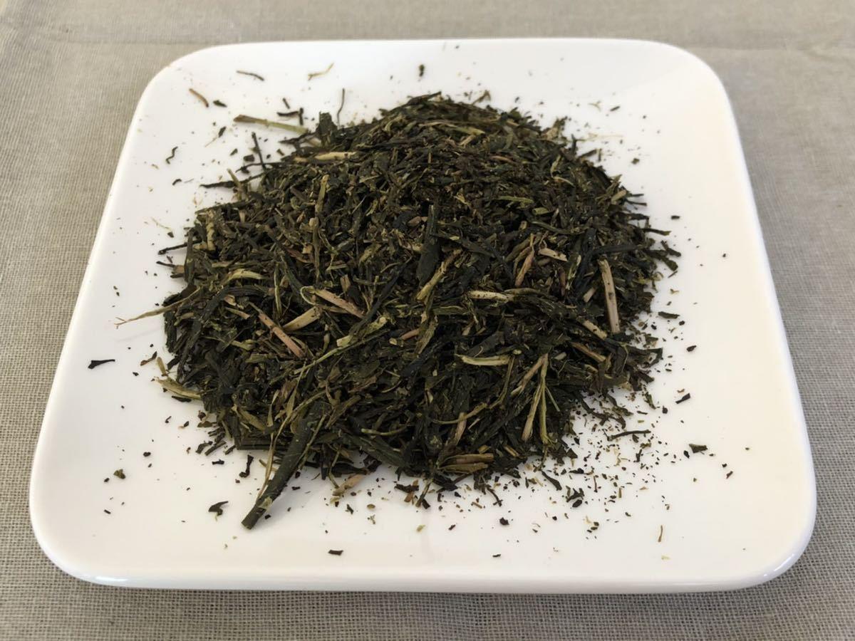 「新茶」ほうじ茶飲み比べセットL 手煎りほうじ茶・焙煎ほうじ茶Lサイズ 宇治茶100% 無農薬 化学肥料不使用 2021年産_画像2
