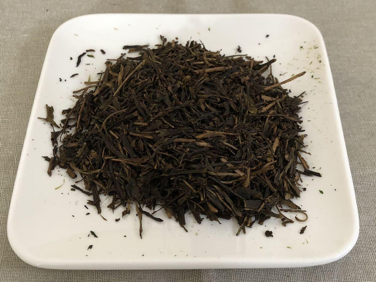 「新茶」ほうじ茶飲み比べセットL 手煎りほうじ茶・焙煎ほうじ茶Lサイズ 宇治茶100% 無農薬 化学肥料不使用 2021年産_画像3