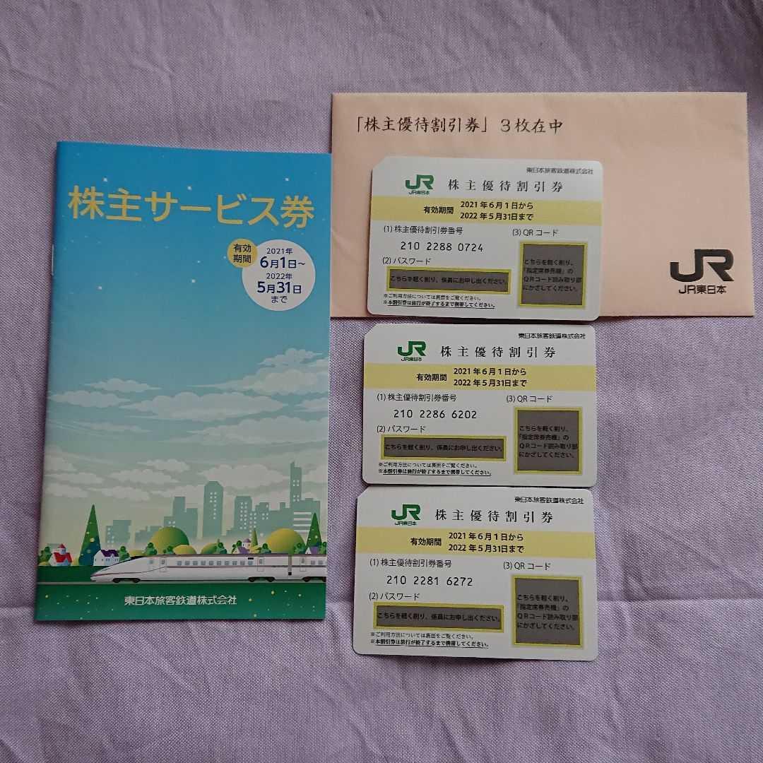JR東日本 株主優待割引券 株主サービス券_画像1