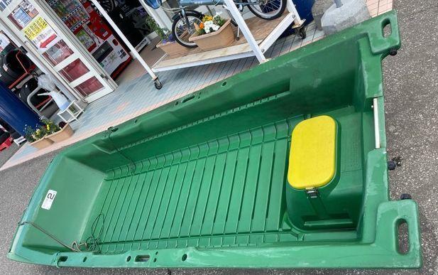 「卍SALE!RYOBI【リョービ】エースボート 型式:GEB-30 希少なグリーンカラー ※店頭引き渡し限定※(札幌市清田区)卍925」の画像2