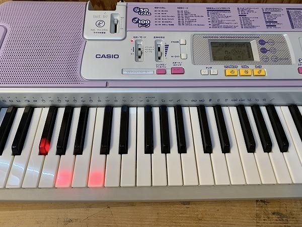 CASIO カシオ■光ナビゲーションキーボード LUCE LK-103■ルーチェ■電子ピアノ■鍵盤楽器■Η_画像4