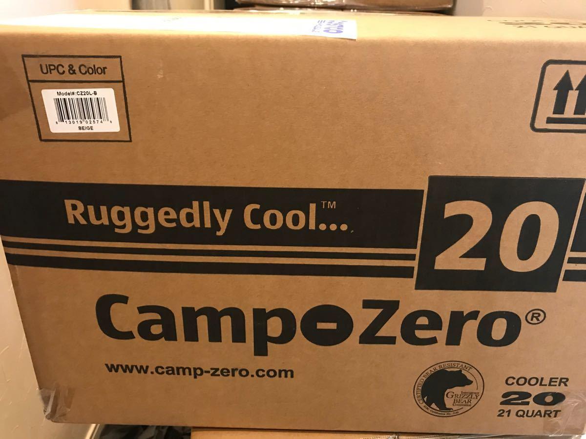 キャンプゼロ クーラーボックス20L