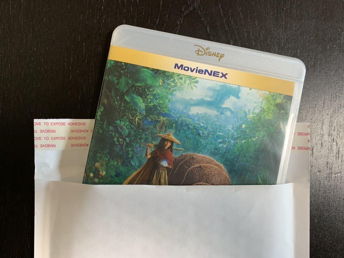 G14 ラーヤと龍の王国 ブルーレイ と 純正ケース 未再生品 国内正規品 ディズニー Blu-rayのみ(DVD・Magicコードなし)