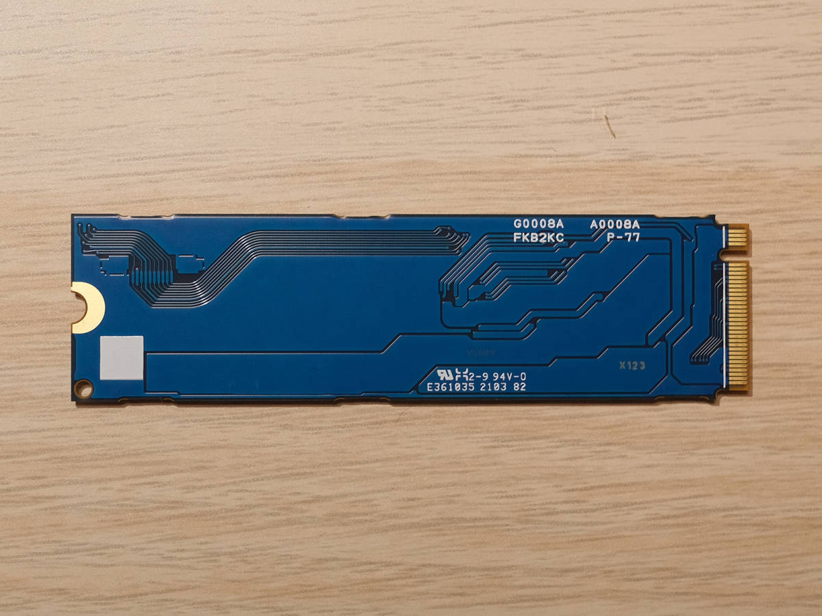 ●SSD KIOXIA(TOSHIBA/東芝)512GB●KXG60ZNV512G M2 M.2 PCIe Gen3 x4●