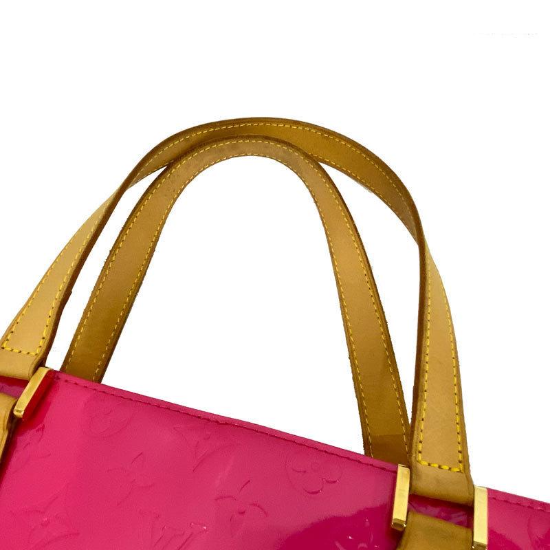 Louis Vuitton ルイヴィトン ヒューストン ヴェルニ M91219 フューシャピンク 中古AB【辻屋質店B1039】_画像5