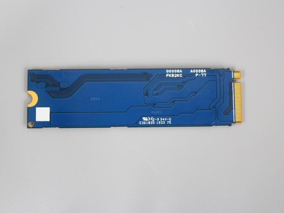 ●送料無料 累計使用時間1097H TOSHIBA KXG6AZNV256G■M.2 NVMe 256GB SSD 2280 動作確認済み