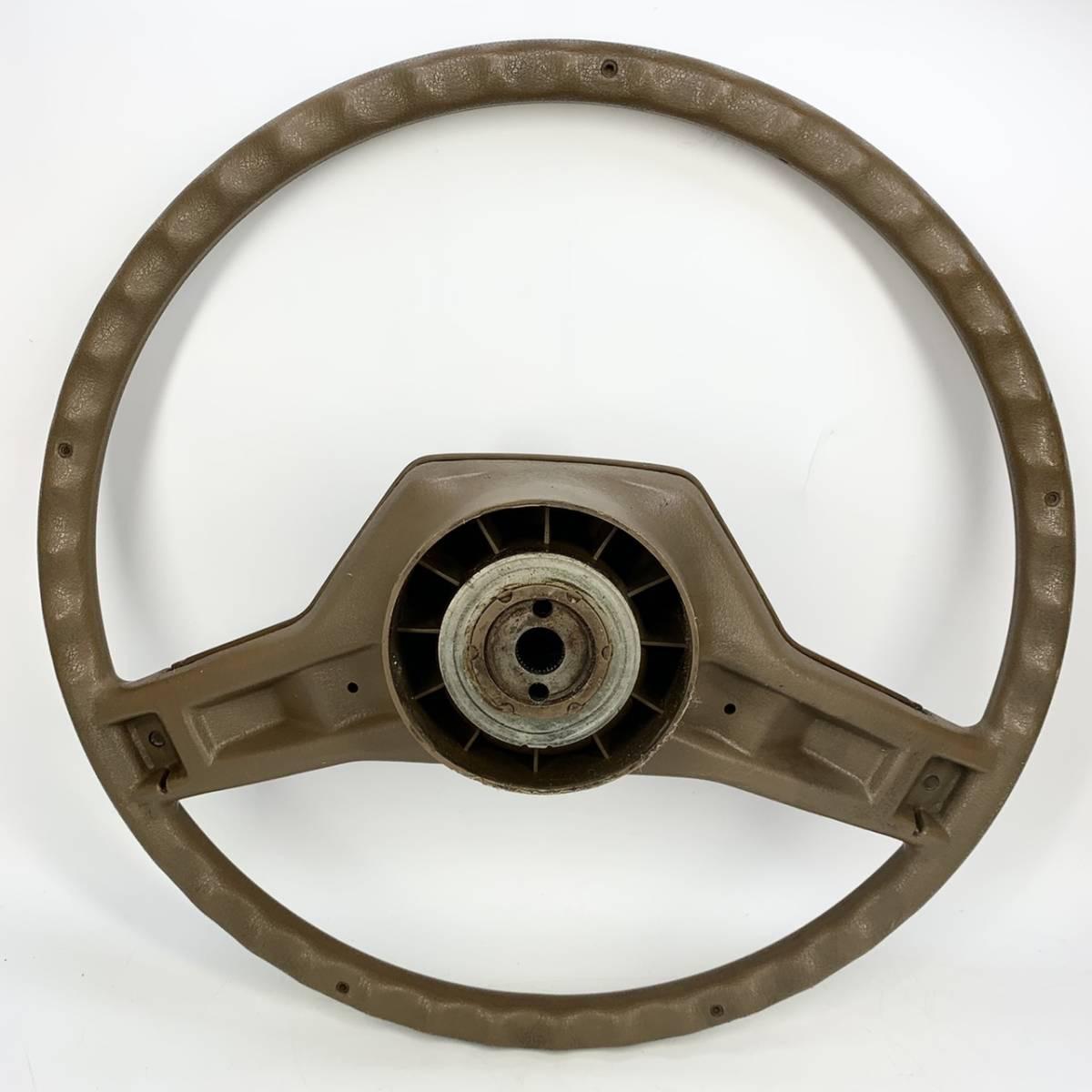 旧車 当時もの マツダ ステアリング 40 パイ/ キーワード ハンドル 絶版 管理6