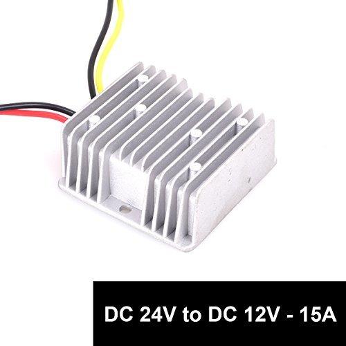 15A 180W トラック大型車 dcdc コンバータ DC 24V → 12V 15A 180W 直流電圧 変換器 _画像4