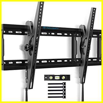 【即決 早い者勝ち】ブラック PERLESMITH テレビ壁掛け金具 37~70インチ 液晶テレビ対応 耐荷重60kg 左右移動式 角度調節可能 V_画像1