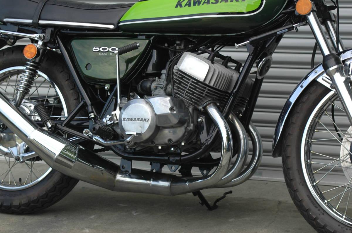 「希少 国内 マッハ500 H1F 極上 Z1Z2 H2 KH SS RZRDGT KZ Z750RS Z400FX GPZ GSX CB750 Z900 D1D2 CBXCBRGSX」の画像3