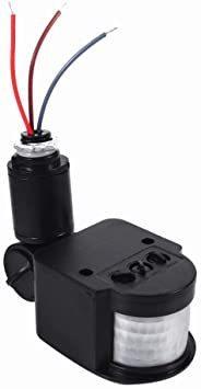 春歌周到 Qillu 赤外線センサースイッチ モーションセンサー検出スイッチ 人感センサー 自動 照明 屋外屋内 2-20_画像3
