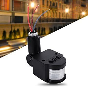 春歌周到 Qillu 赤外線センサースイッチ モーションセンサー検出スイッチ 人感センサー 自動 照明 屋外屋内 2-20_画像2