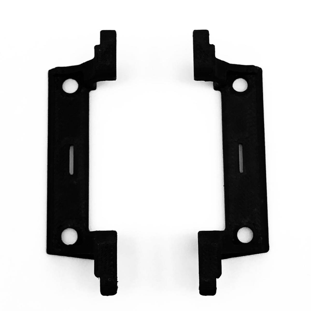 RGTタイヤ + 変換ハブ + ABS製 ミニッツ 4x4 ジムニーシエラ 用 10mm リフトアップパーツセット 4×4