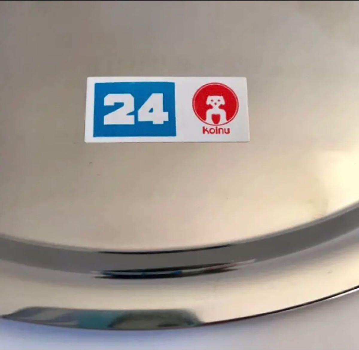 未使用 本間製作所/仔犬印 フライパン蓋24cm 18-0ステンレスSUS430 A