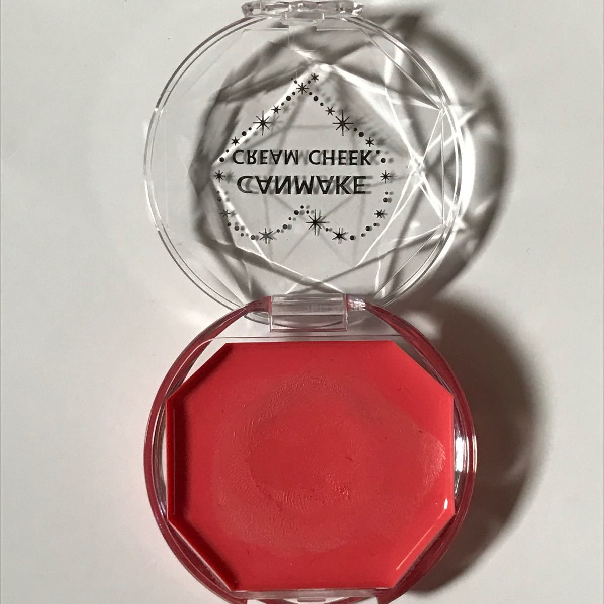 キャンメイク クリームチーク クリア CL05 ほお紅 チークカラー