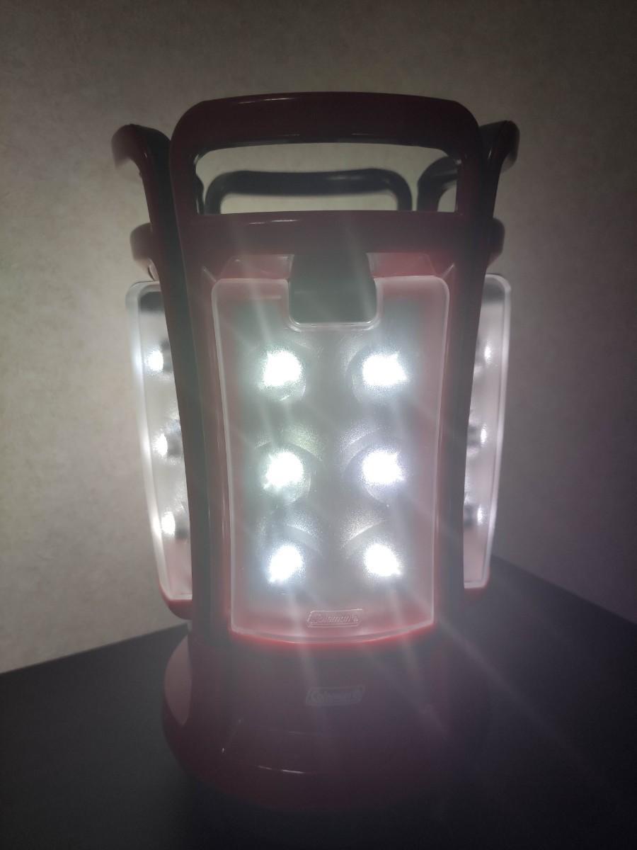 コールマン LEDランタン Coleman クアッド QUAD Lantern LED 電池式 LEDライト