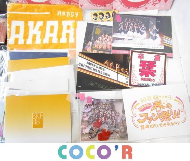 【同梱可】良品 アイドル AKB48 SKE48 Tシャツ タオル 等 グッズセット_画像5
