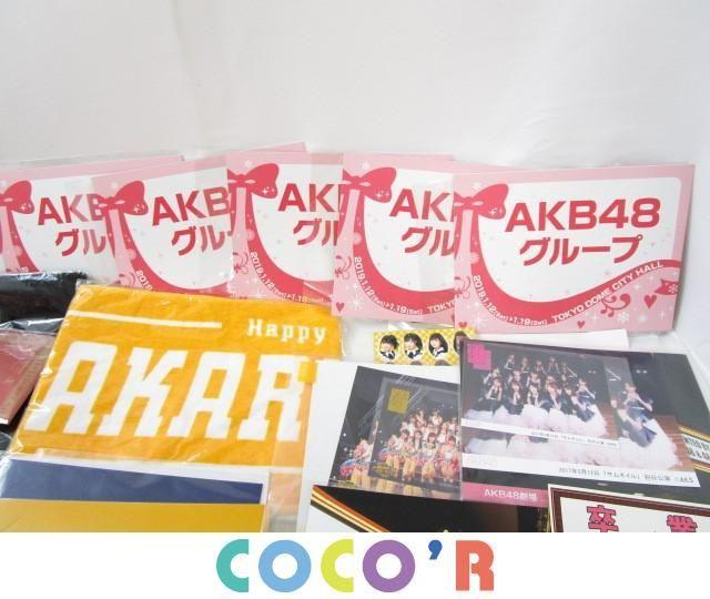【同梱可】良品 アイドル AKB48 SKE48 Tシャツ タオル 等 グッズセット_画像4
