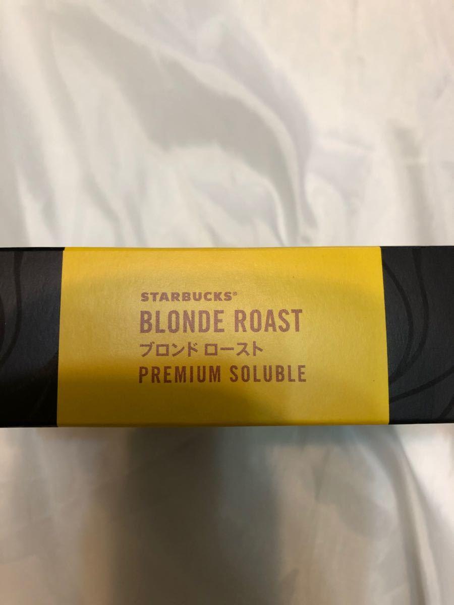 【スティックコーヒー】 ネスレ日本 スターバックス プレミアム ソリュブル ブロンド ロースト 1箱 (7本入)×4箱
