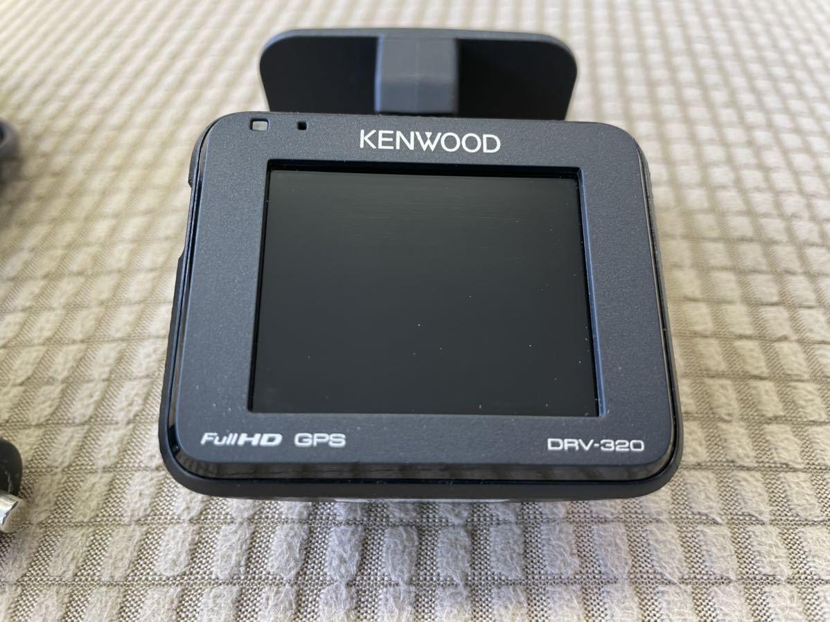 中古KENWOOD DRV-320 ドライブレコーダー_画像2