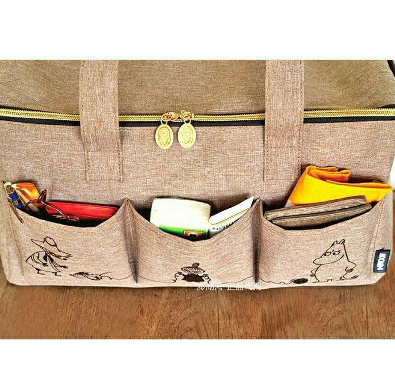 トートバッグ レディース ムーミン ショルダーバッグ 大容量 ファスナー 旅行 マザーズバッグ エコバッグ トート キャラクター