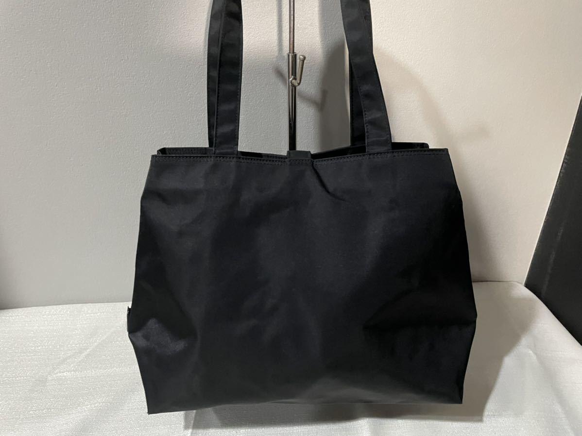 アニエスベートートハンドバッグ軽量レディース Agnes b.ハンド鞄黒ブラック