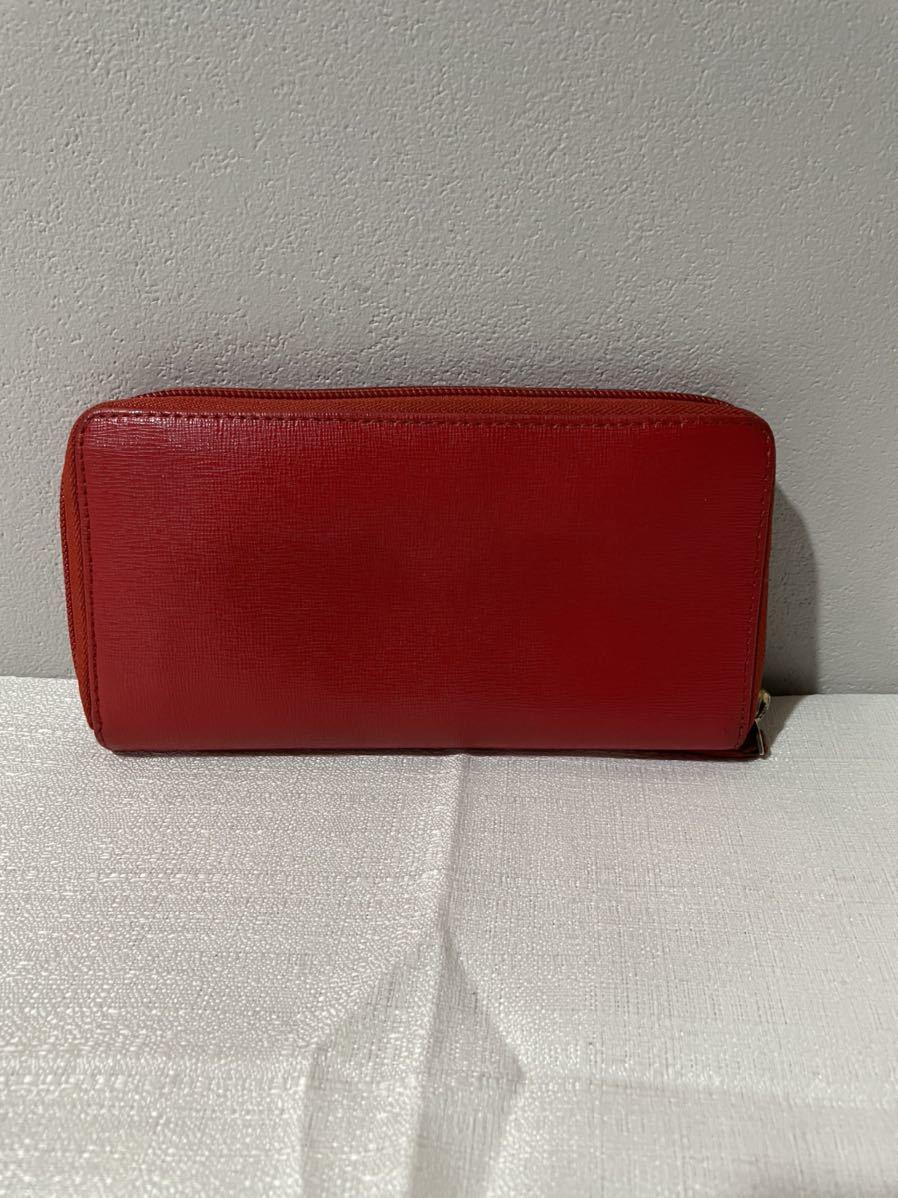 Vivienne Westwoodヴィヴィアンウエストウッド長財布赤 レディース