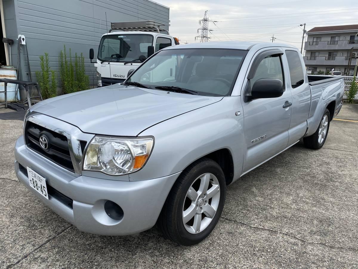 「美車 2006年 タコマアクセスキャブSR-5 2WD ローダウン  1ナンバー予備検査渡し 代金は落札価格のみでOK!! ミニトラック 北米 USDM」の画像3
