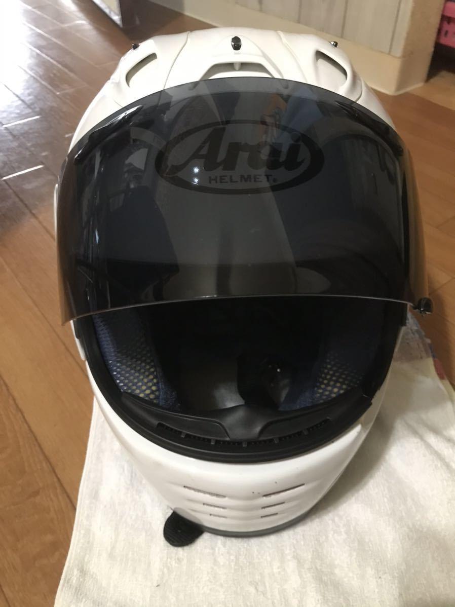 アライ ラパイド スーパーR Mサイズフルフェイスヘルメット _画像5