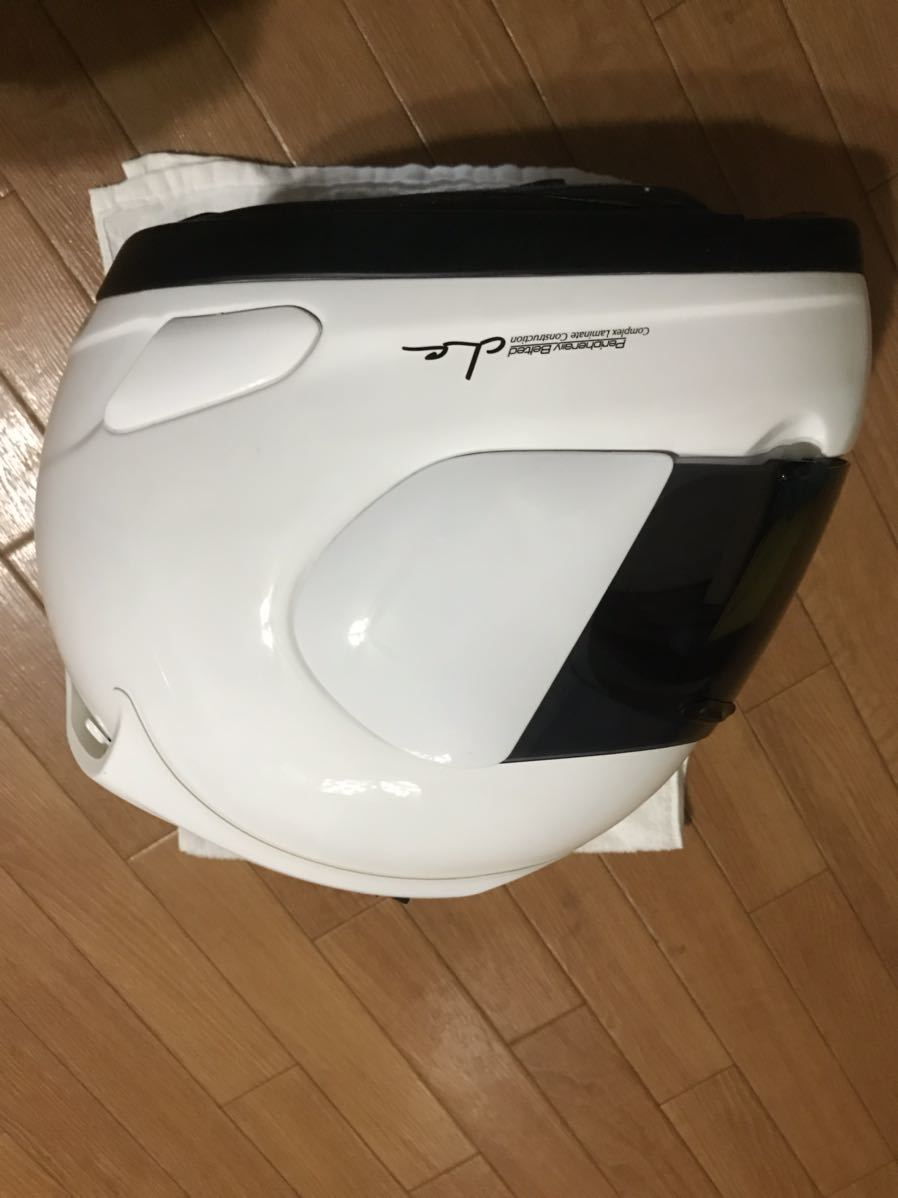 アライ ラパイド スーパーR Mサイズフルフェイスヘルメット _画像3