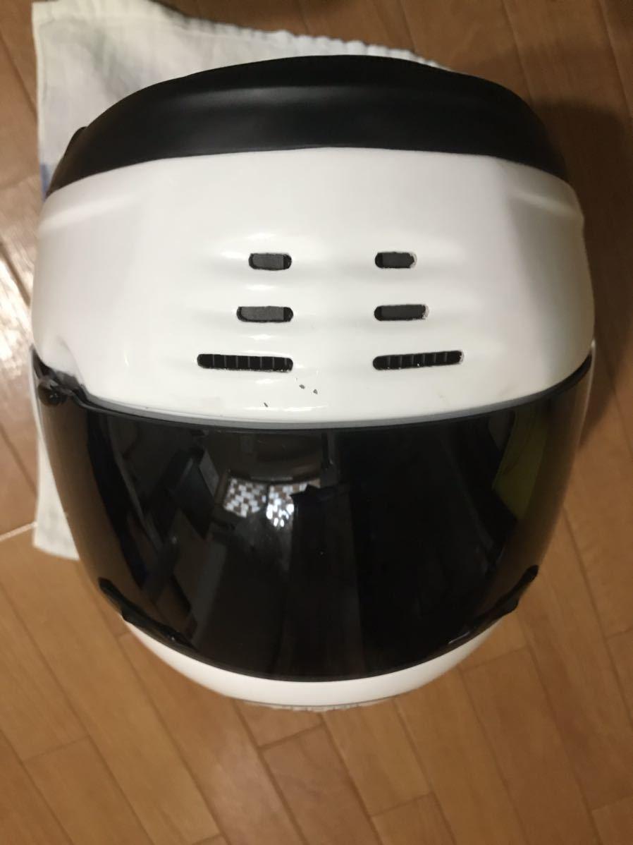 アライ ラパイド スーパーR Mサイズフルフェイスヘルメット _画像8