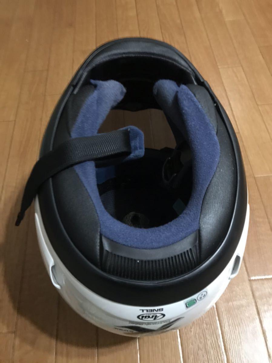 アライ ラパイド スーパーR Mサイズフルフェイスヘルメット _画像6