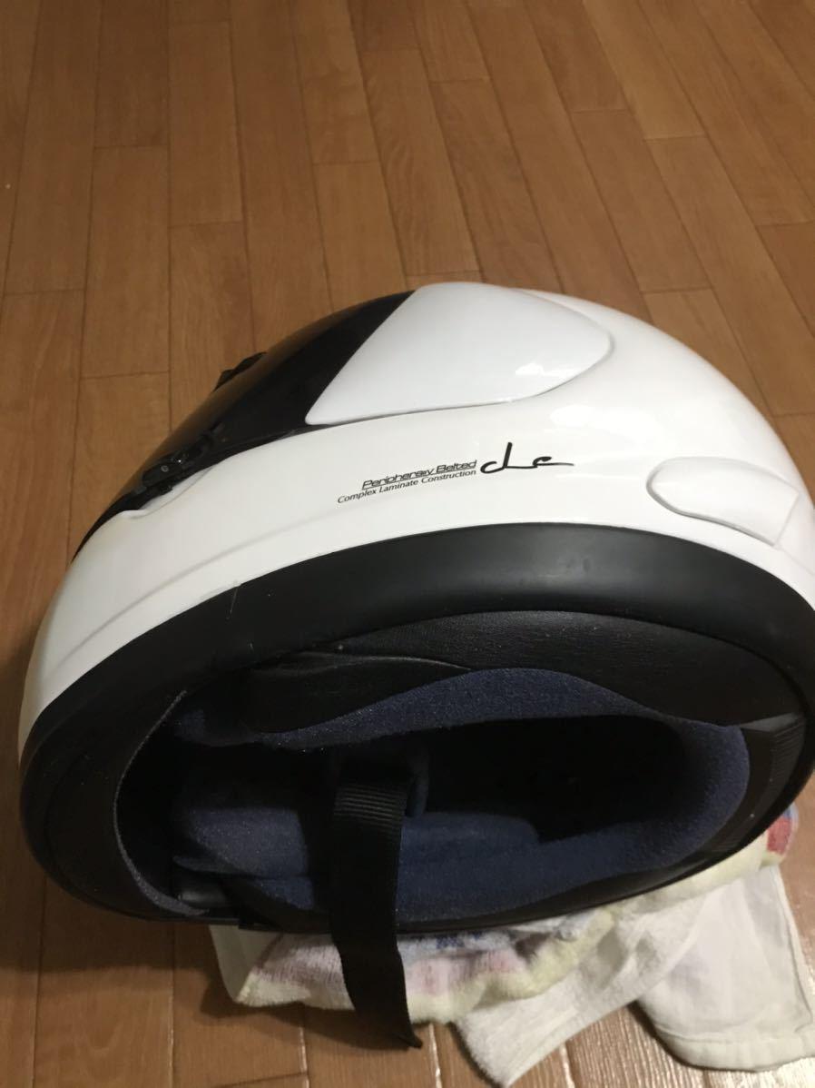 アライ ラパイド スーパーR Mサイズフルフェイスヘルメット _画像2