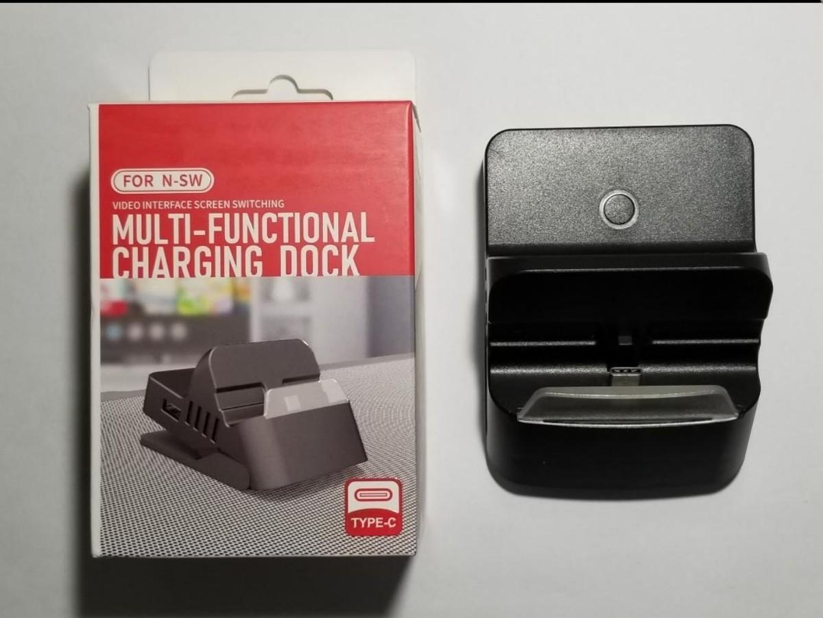 任天堂スイッチ ドック 充電スタンド TVモード テーブルモード TV出力