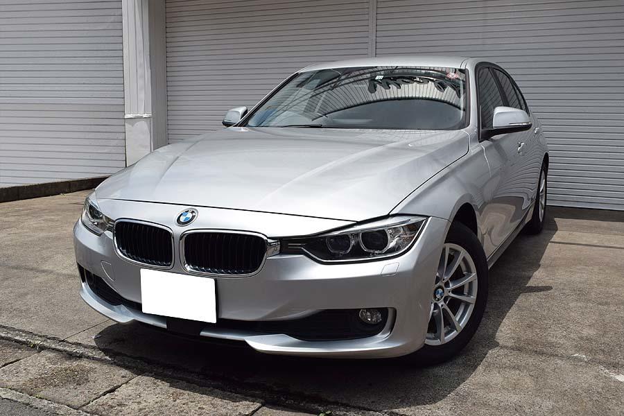 「【全車輌消毒消臭済】大人の雰囲気漂うシルバーカラー 2014y ディーゼルモデル BMW 320d 正規ディーラー車 出品中の現車確認可能」の画像1