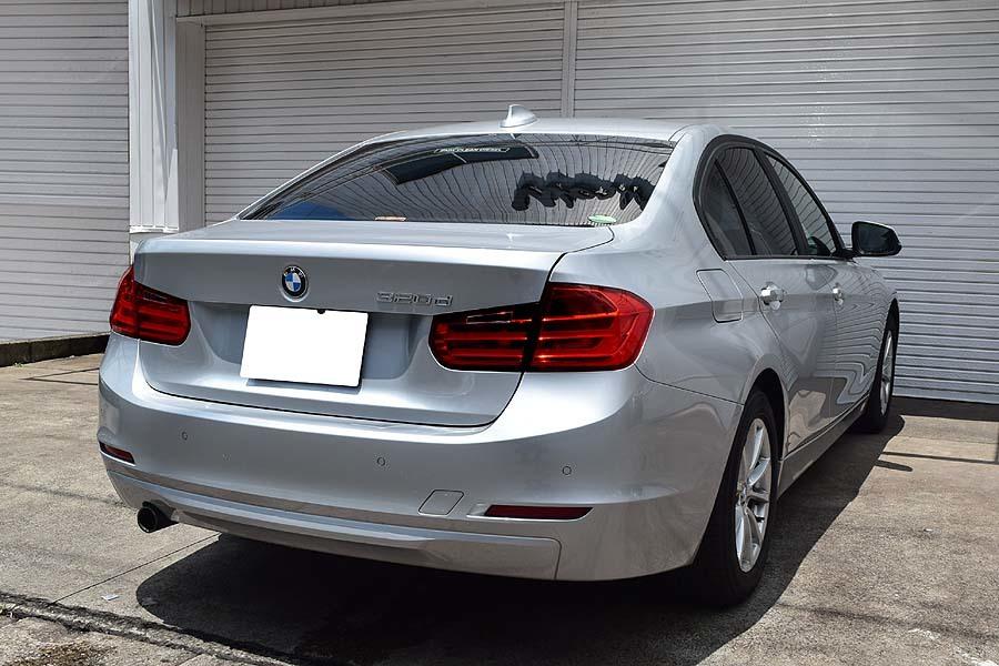 「【全車輌消毒消臭済】大人の雰囲気漂うシルバーカラー 2014y ディーゼルモデル BMW 320d 正規ディーラー車 出品中の現車確認可能」の画像2