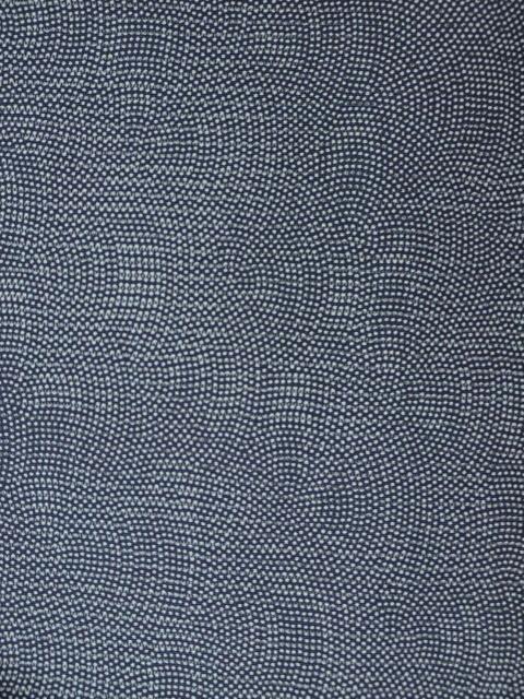 新品 1693 夏着物 大幅値下げ 正絹お仕立て上がり江戸絽小紋 鮫小紋柄 青系_画像5
